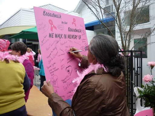 lesbians breast cancers