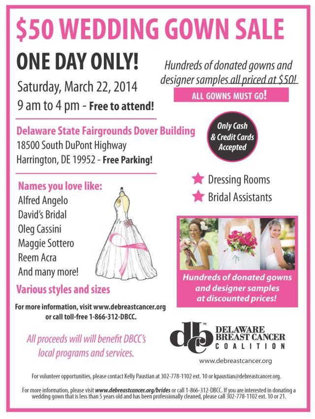 bridal gown sale